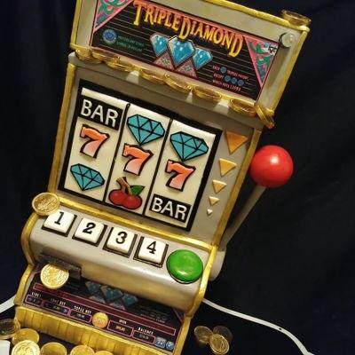 slot machine cake tutorial