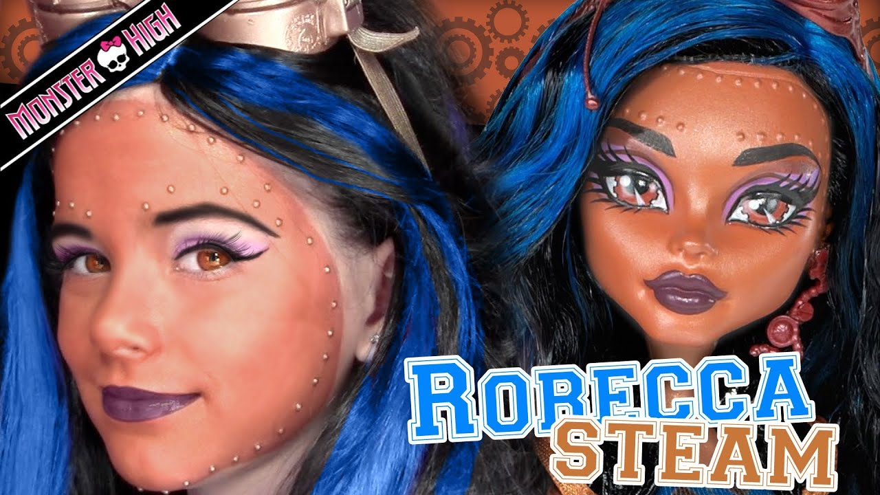 monster high makeup tutorial by emma nefera
