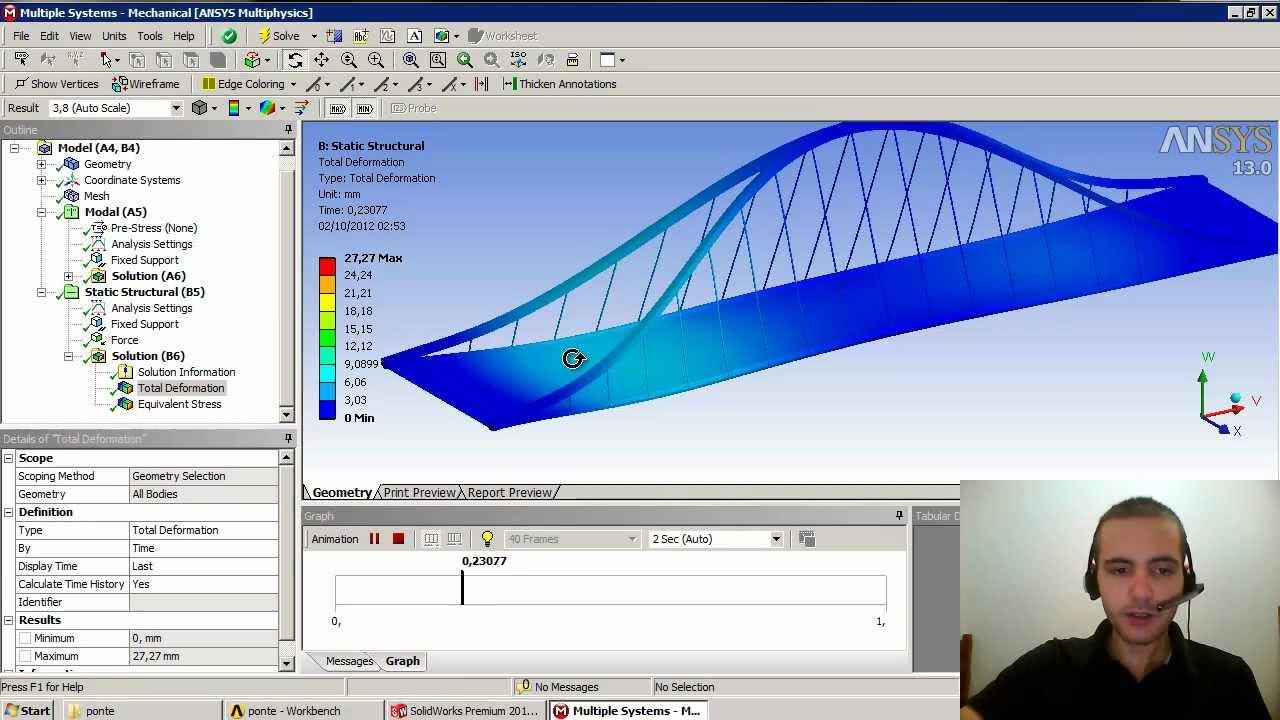 ansys vibration analysis tutorial pdf