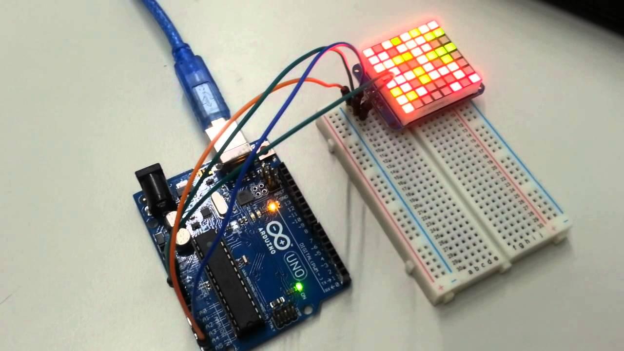 arduino led matrix tutorial