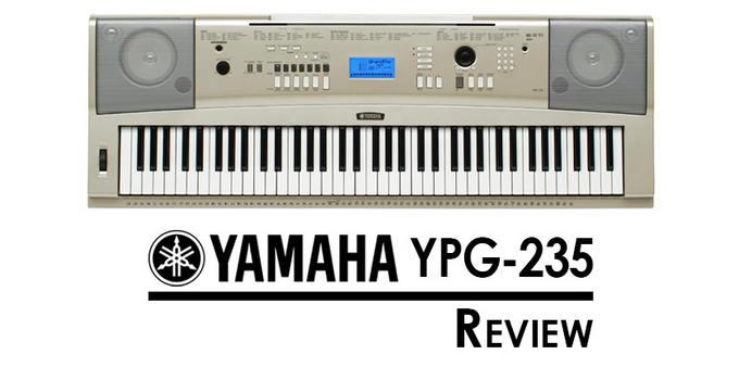 yamaha ypg 235 tutorial