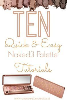 urban decay gwen stefani eyeshadow palette tutorial