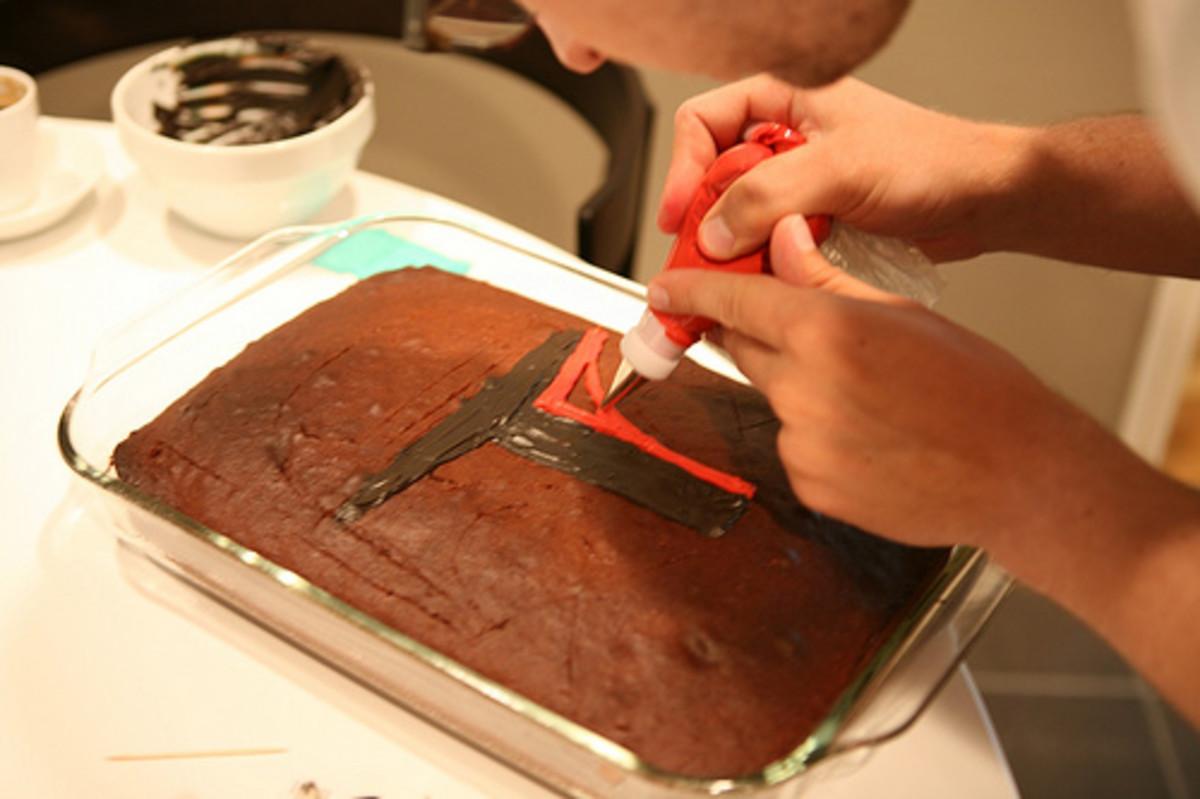 boba fett cake tutorial