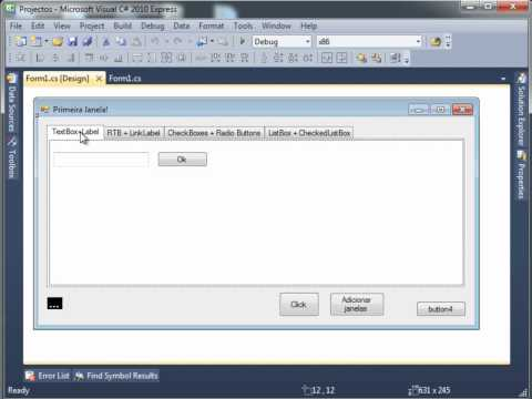 c# windows forms tutorial
