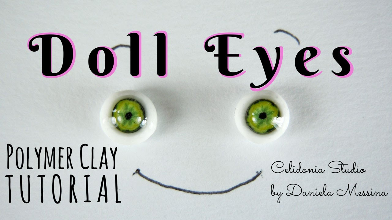 polymer clay eyes tutorial