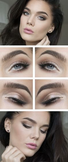 casual eye makeup tutorial