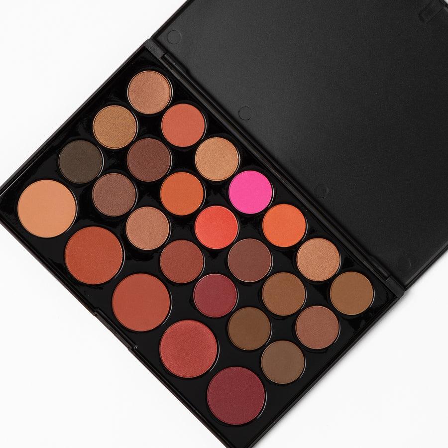 bh cosmetics blushed neutrals palette tutorial