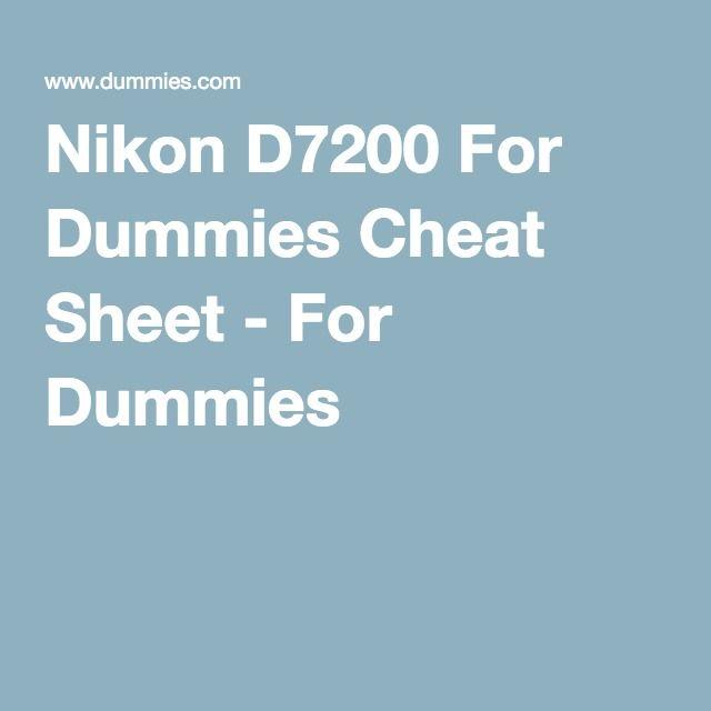 nikon d7200 tutorial for beginners