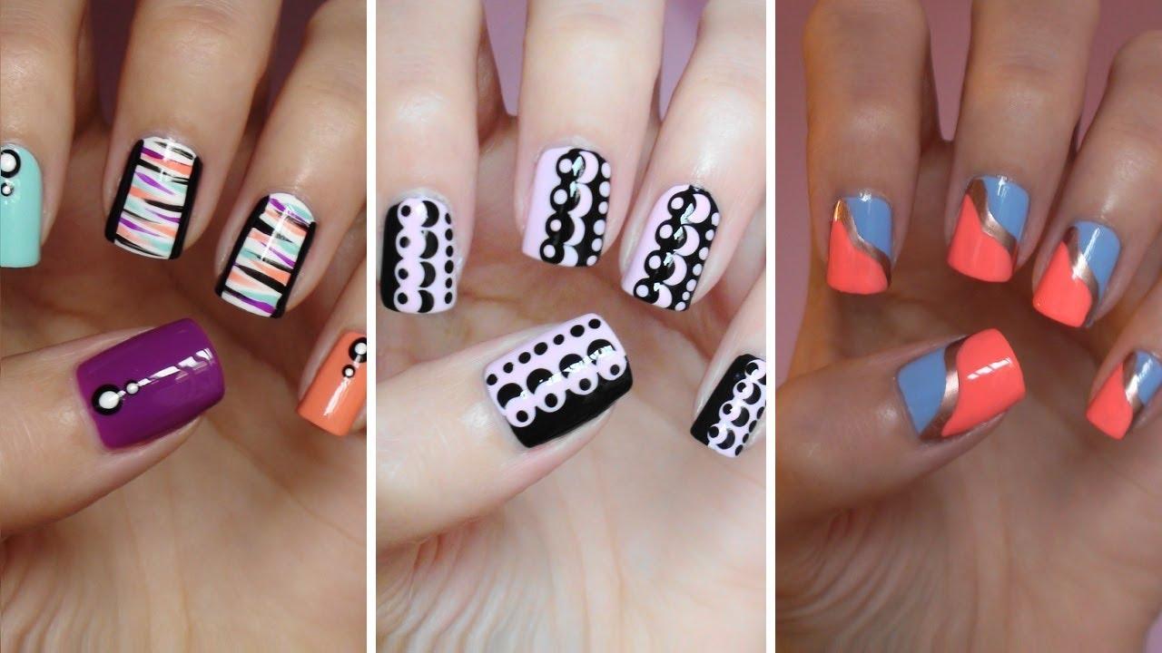tutorial nail art pemula