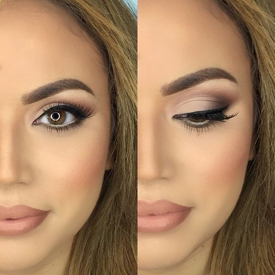 easy evening makeup tutorial
