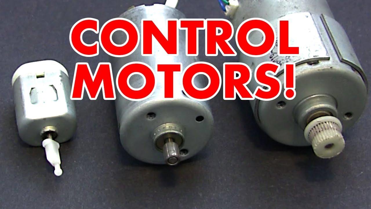 pic motor control tutorial