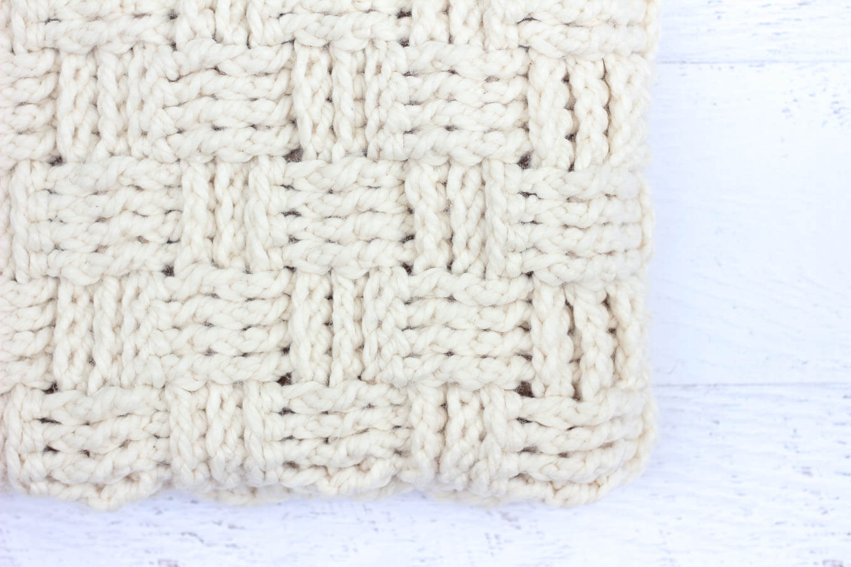 basket weave crochet tutorial
