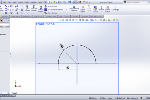 solidworks sheet metal cone tutorial