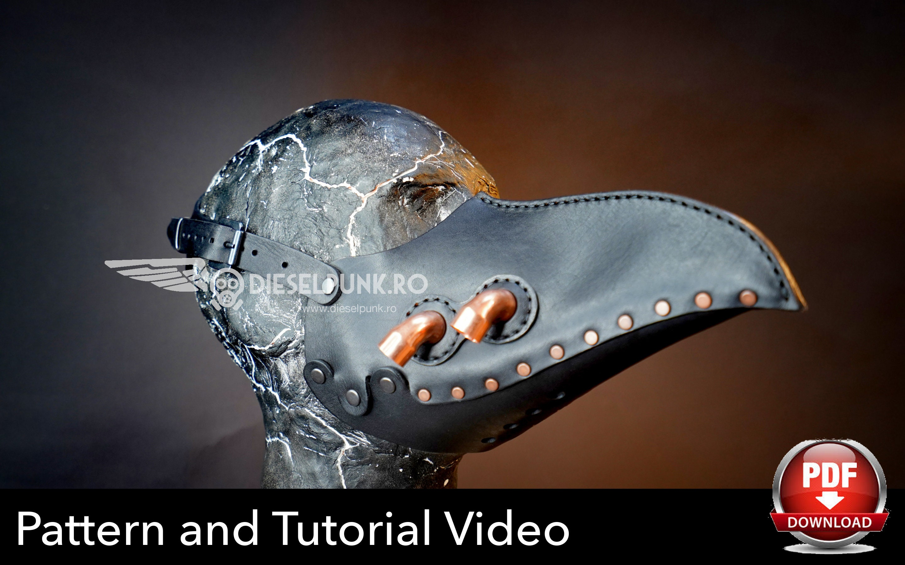 plague doctor mask tutorial