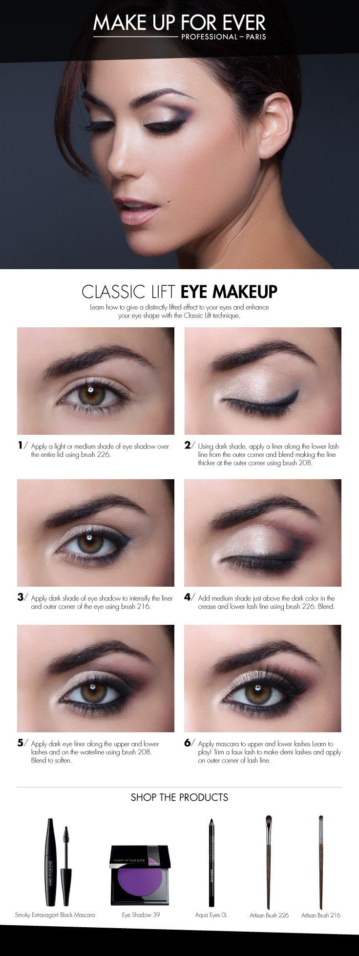 sephora eye makeup tutorial