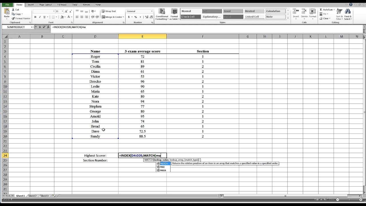 excel functions tutorial youtube