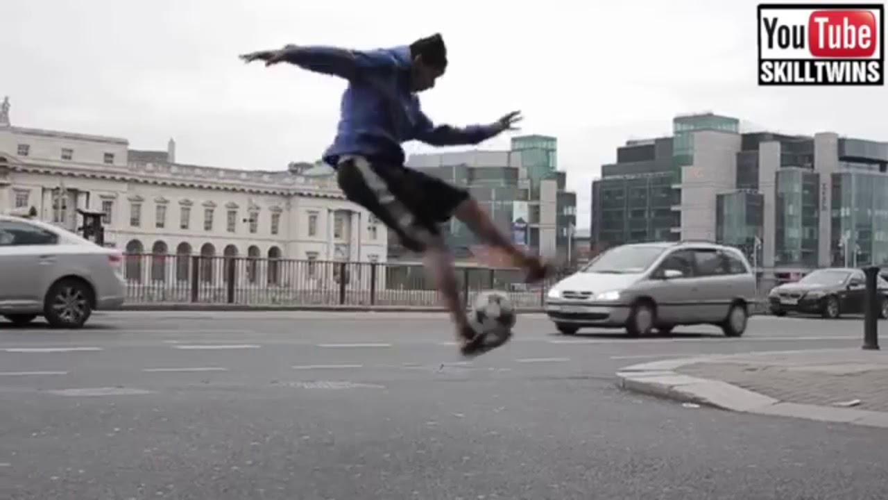 freestyle football skills tutorial