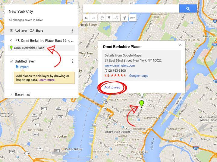 google my maps tutorial