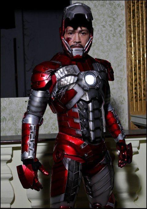 iron man cosplay tutorial