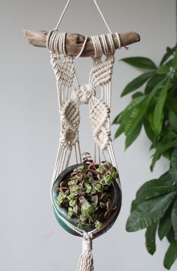 macrame wall hanger tutorial