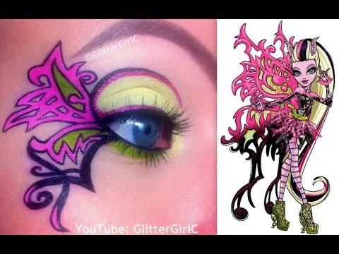 monster high makeup tutorial videos