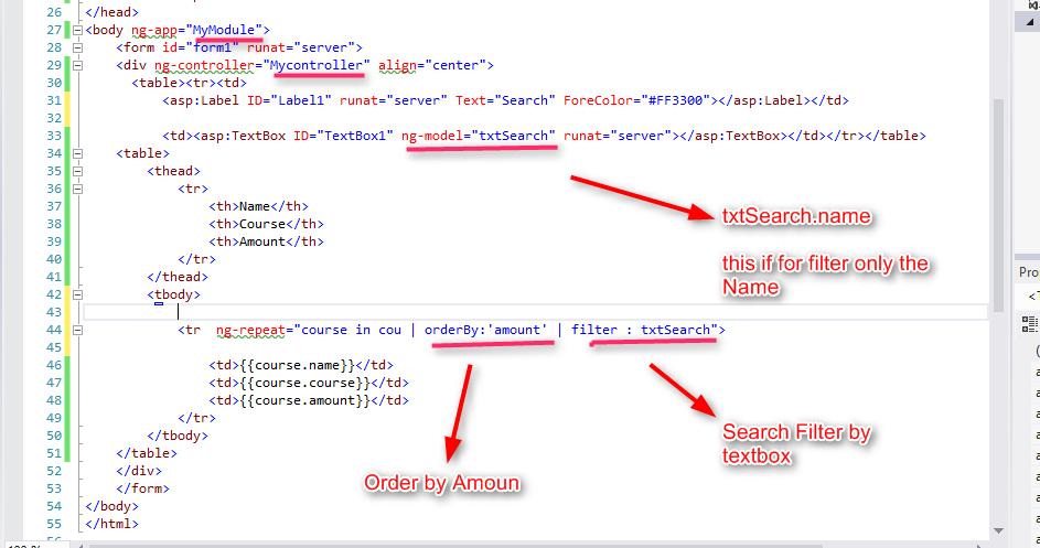 ng table angularjs tutorial