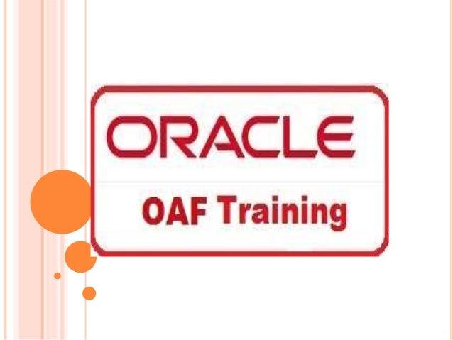 oracle oaf tutorial pdf