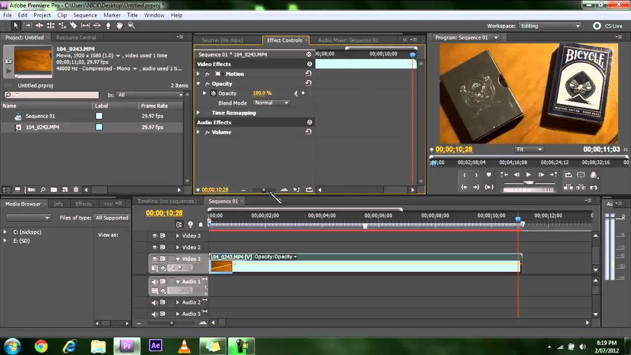 premiere pro cs5 tutorial
