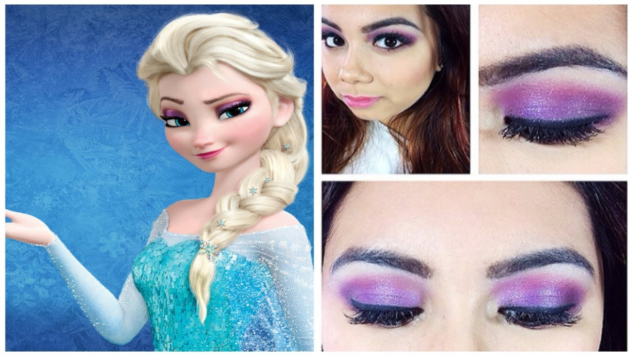 queen elsa makeup tutorial