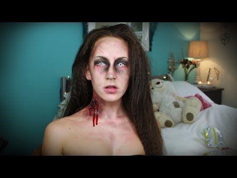 quick zombie makeup tutorial
