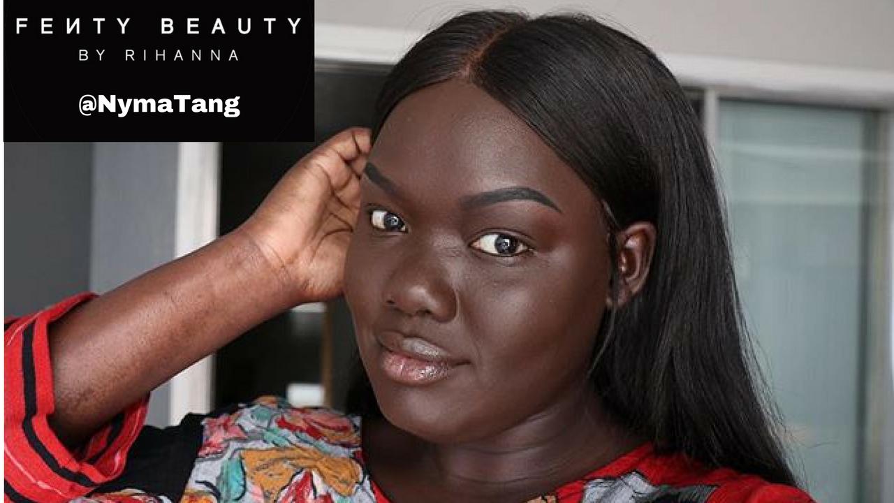 rihanna fenty makeup tutorial