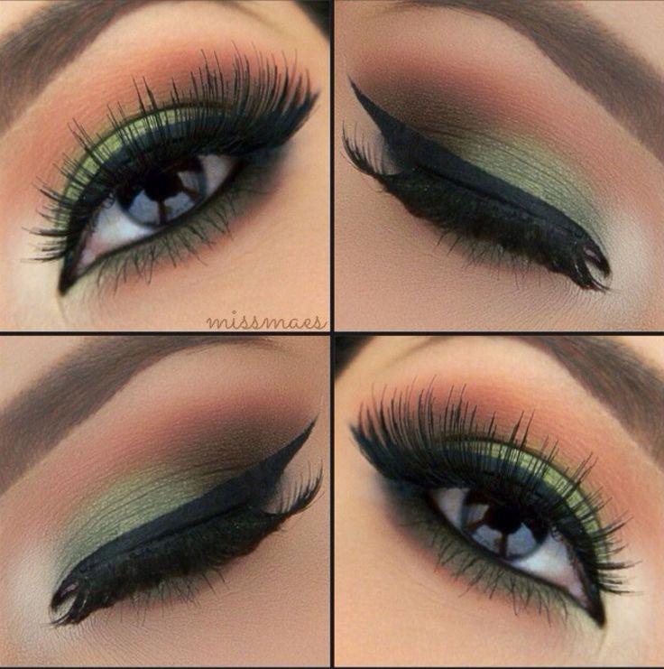 simple dark eye makeup tutorial