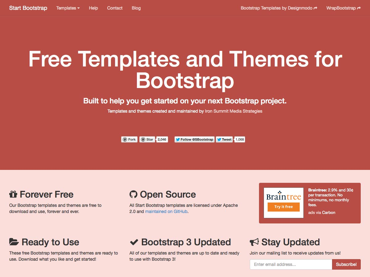single page website tutorial bootstrap