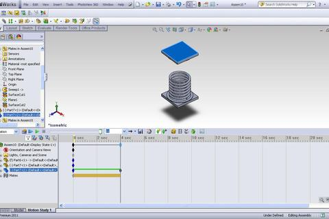 solidworks motion study tutorial