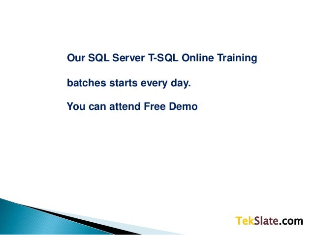 t sql tutorial point