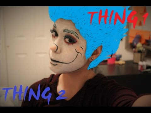 thing 1 makeup tutorial