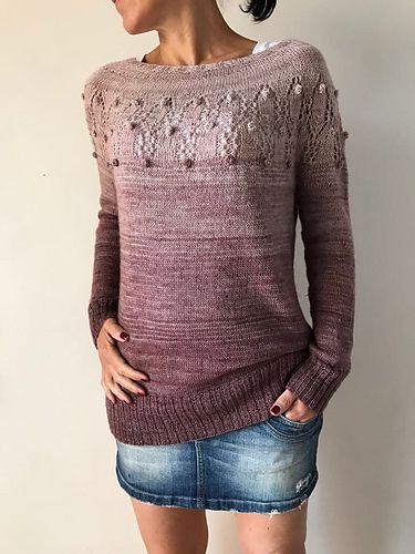 top down sweater tutorial