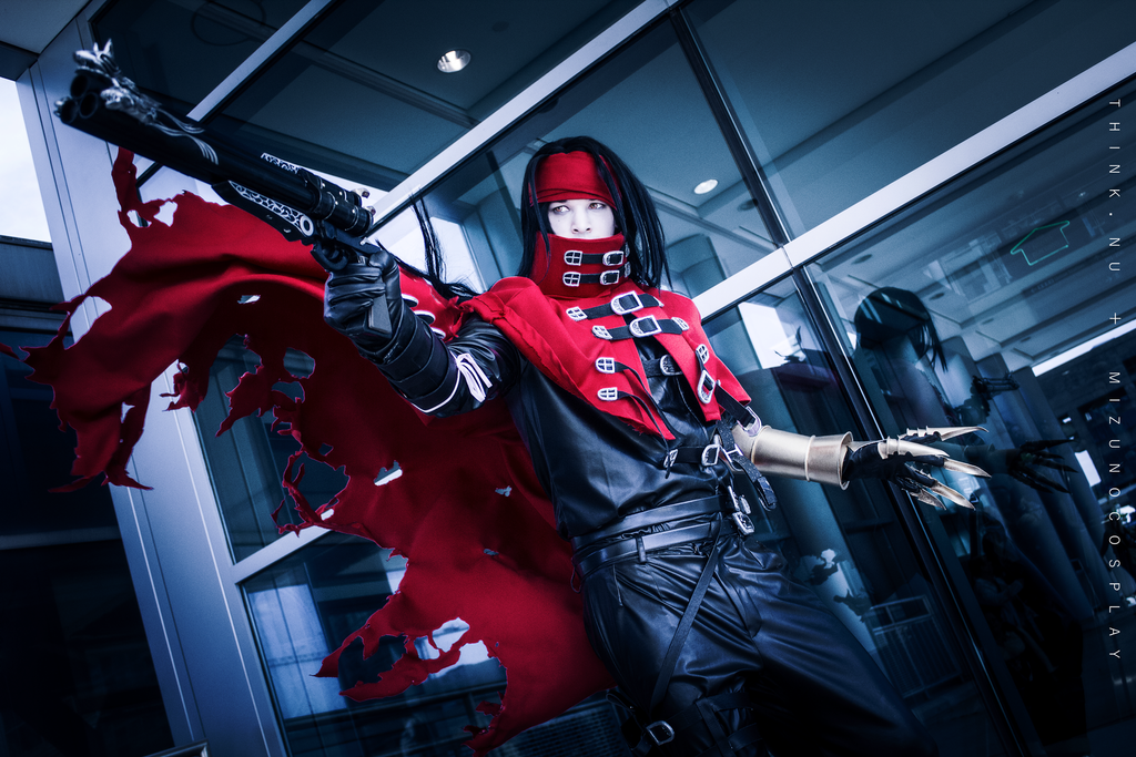 vincent valentine cosplay tutorial