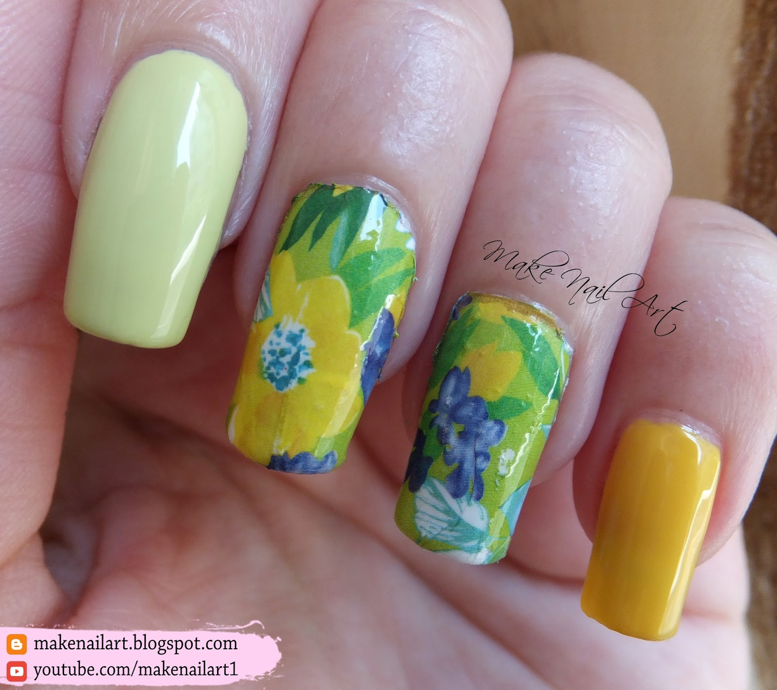 water nail decals tutorial