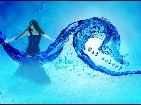 water splash photoshop tutorial