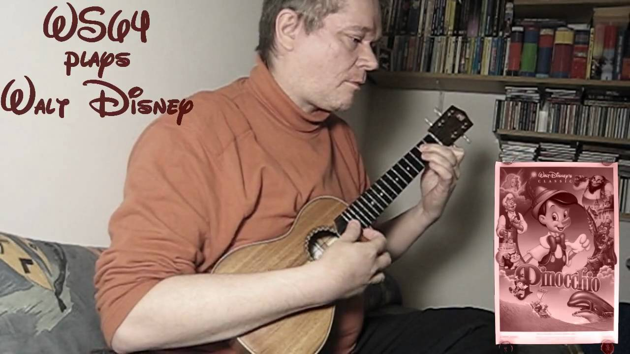when you wish upon a star ukulele tutorial