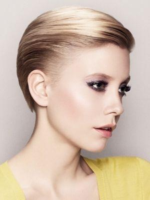 womens slicked back hair tutorial